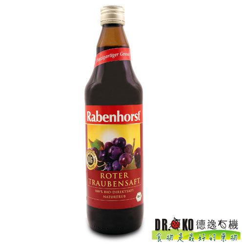DR.OKO德逸 有機紅葡萄原汁 750ml/瓶