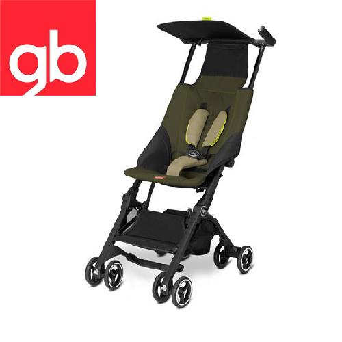 【Goodbaby】Pockit 折疊嬰兒手推車(卡其綠)(限量款)MONUMENT BLACK 616230001