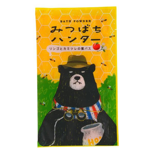《日本製》CHARLEY 蜜蜂獵人入浴劑-蘋果洋甘菊香 40g
