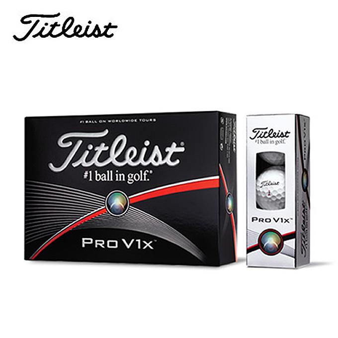 **三榮高爾夫** TITLEIST PRO V1X 高爾夫球 (12個)