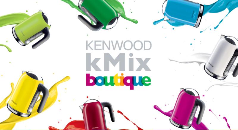 英國Kenwood kMix 快煮壺 Boutique系列綠/紅/白 兩色)