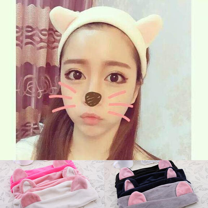 代購現貨 韓版貓耳朵髮帶 IF0225