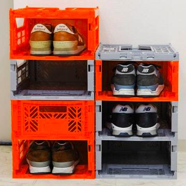 (中)Ay Kasa土耳其多功能折疊 組合 多色專利摺疊收納箱(中),收納 整理 旅遊 玩具箱 水果籃 工具箱 物流箱 置物箱 鞋櫃【Limiteria】