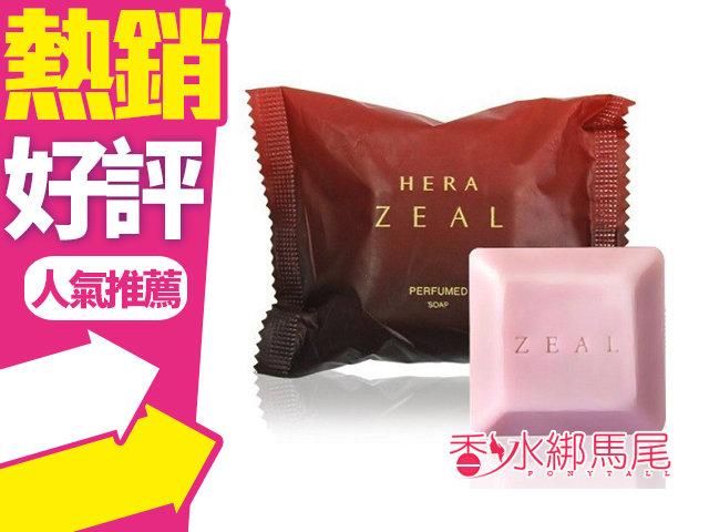 韓國 HERA ZEAL 赫拉 香水皂 60g 天然保濕 玫瑰 潔面皂 沐浴皂?香水綁馬尾?