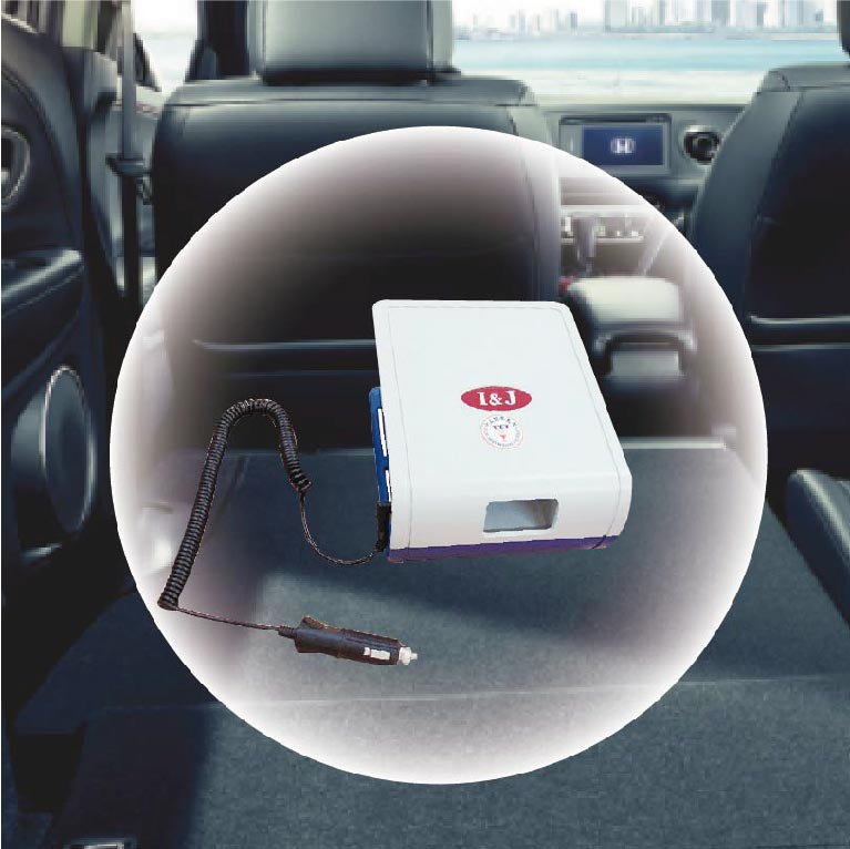 ◆愛恩佳◆可對抗伊波拉病毒-專利車用型空氣清淨機 - 森呼吸AF-G2000C