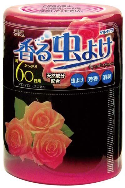 日本Welco天然防蟲芳香劑 250g(紅-玫瑰)
