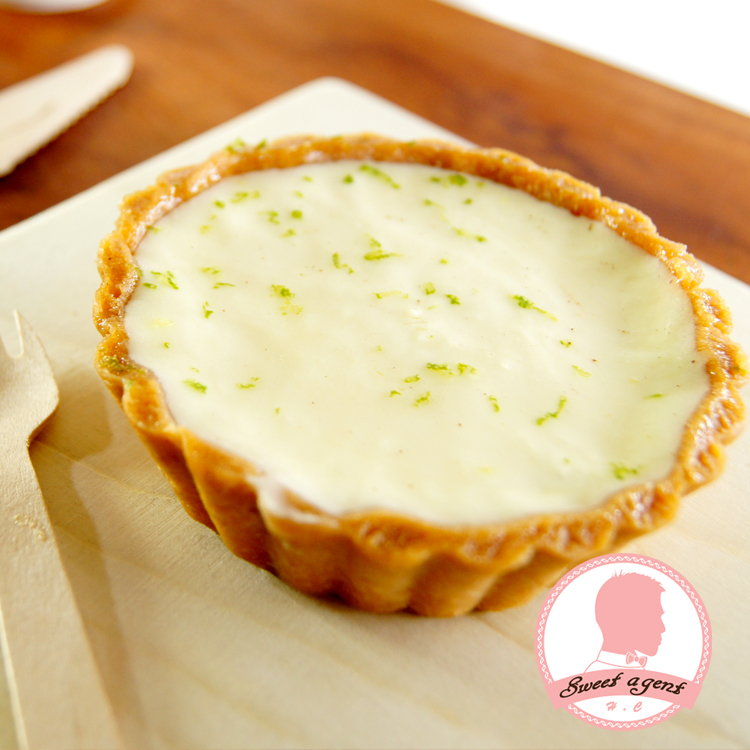 【甜點特務】[ 白雪生乳塔 ] 濃郁起司鮮奶+酥脆塔皮+新鮮檸檬汁