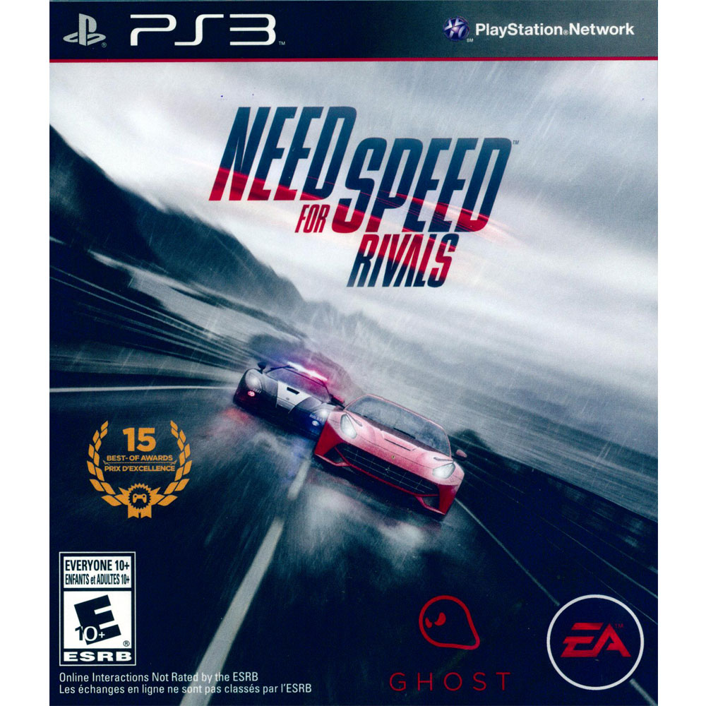 PS3 極速快感:生存競速 英文美版 Need for Speed Rivals