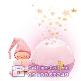 ★衛立兒生活館★Chicco 舒眠星星投射夜燈/粉紅
