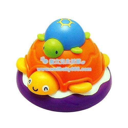 ★衛立兒生活館★Toyroyal 樂雅 洗澡玩具-烏龜 TF7174
