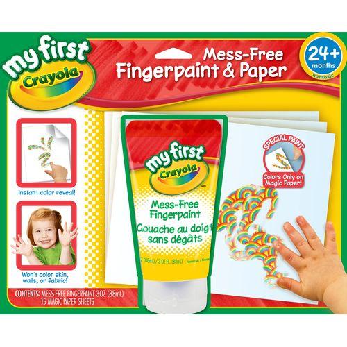★衛立兒生活館★美國crayola幼兒手指畫顏料套裝