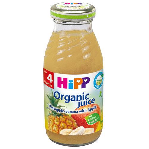 ★衛立兒生活館★HiPP喜寶 有 機綜合蘋果鳳梨果汁-單罐