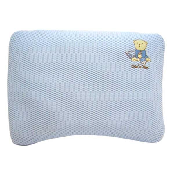 ★衛立兒生活館★奇哥 立體超透氣嬰兒塑型枕(藍色/粉色)