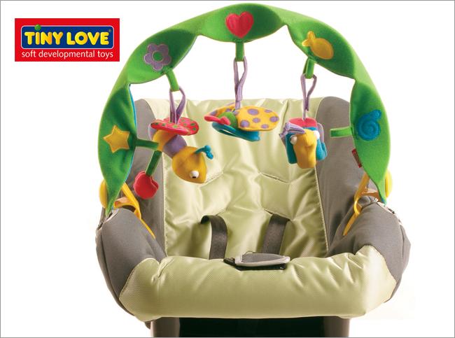 ★衛立兒生活館★Tiny Love智愛 嬰兒車益智玩具-小蝸牛(TL14017)