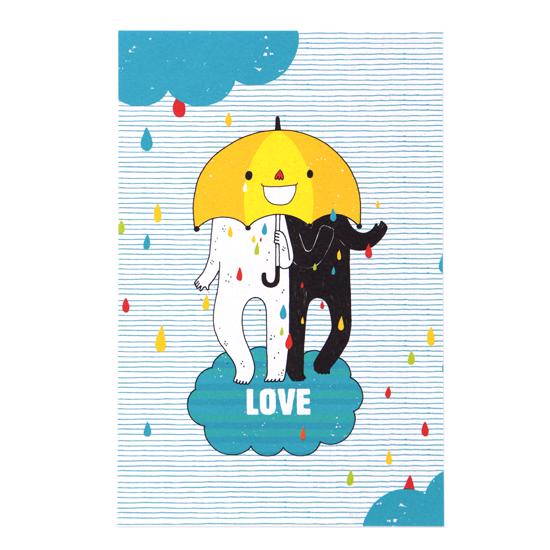 愛在一起/明信片