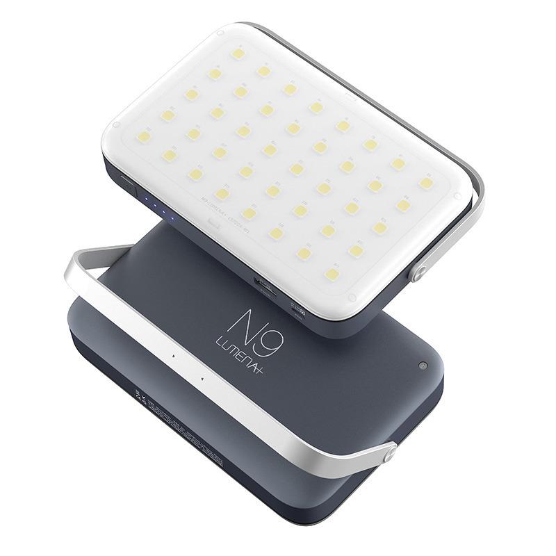 N9 LUMENA+ 多功能行動電源LED照明燈-暖黃光 露營燈/行動充電 大