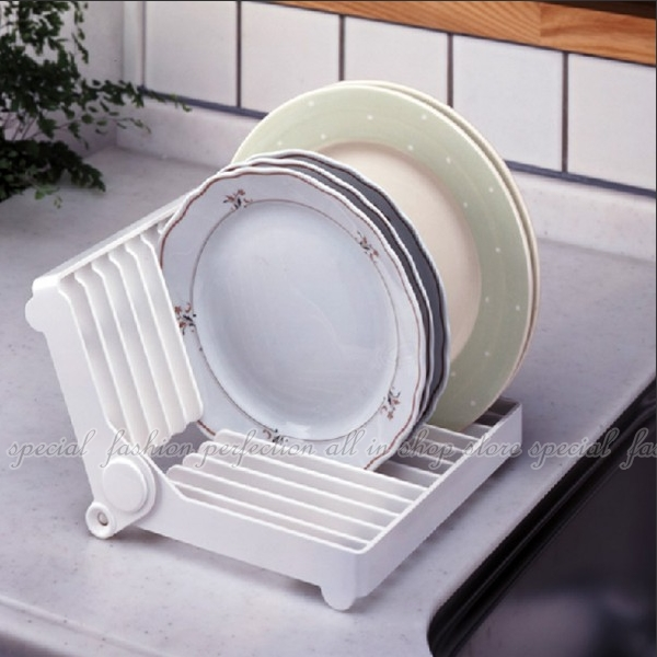 盤子瀝水架 摺疊瀝水架 廚房碗架 碗碟架 收納架 餐具置物架【DI392】◎123便利屋◎