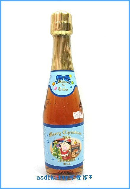 asdfkitty可愛家☆特價品 大寶擺飾用空瓶-香檳已過期僅供擺飾-日本正版商品