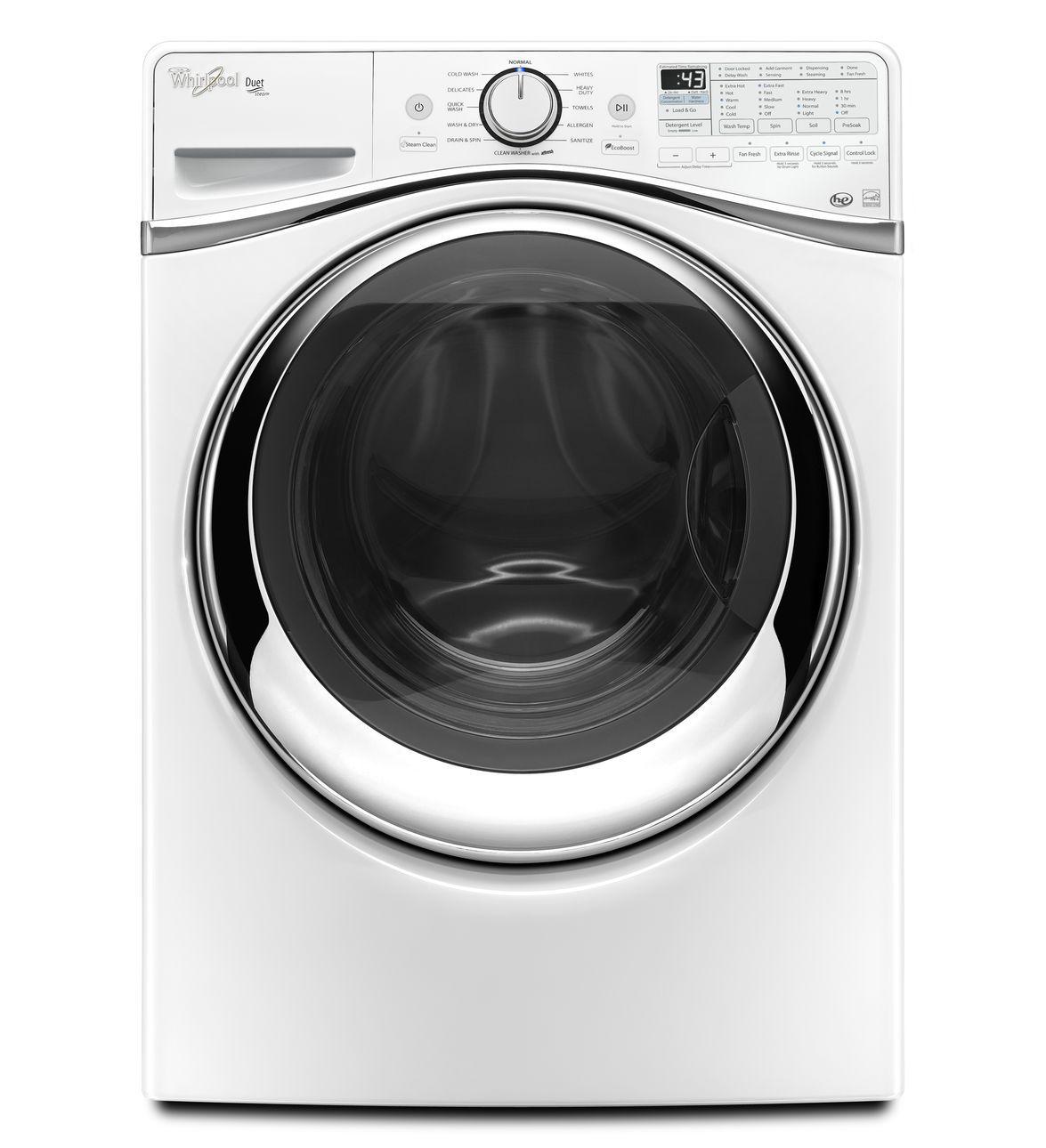 Whirlpool 惠而浦 WFW97HEDW 滾筒洗衣機(15KG) ~美國原裝進口~【零利率】※熱線07-7428010