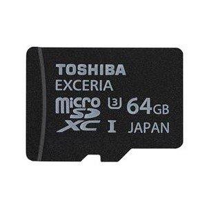 *╯新風尚潮流╭* TOSHIBA 64G 64GB Micro-SDHC UHS-I U3 C10記憶卡 SD-C064G