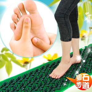 居家卵石健康步道C081-0488(腳底按摩墊.踩踏運動步道.足底足部按摩用品.鵝卵石路.按摩腳墊.推薦)