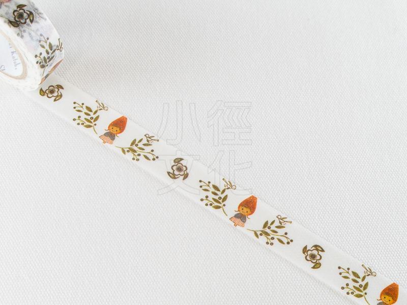 *小徑文化*日本進口紙膠帶 Shinzi Katoh 加藤真治 小紅帽系列 ( ks-mt-10125 )