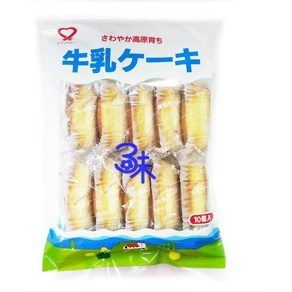 (日本) 幸福堂 高原牛乳蛋糕 ( 幸福堂牛奶蛋糕 )1包 180公克 特價 126元【 4933121401097】