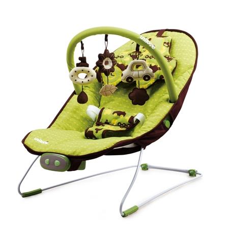 ★衛立兒生活館★英國 unilove 寶寶安撫椅 - Hoze(寶寶搖搖椅、躺椅)(綠色Boo Boo)