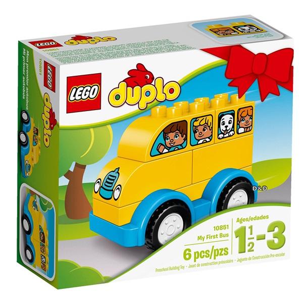 樂高積木 LEGO《 LT10851 》2017 年 Duplo 得寶系列 - 我的第一輛巴士