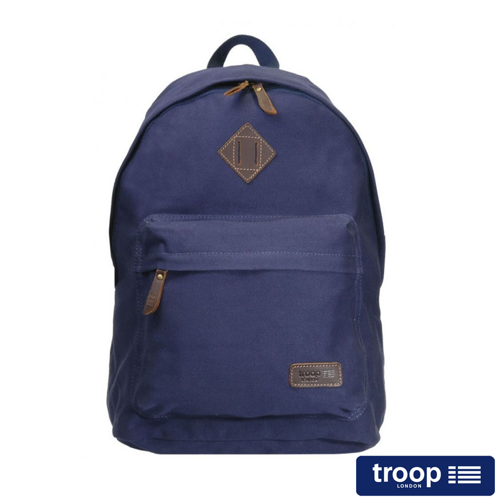 【TROOP】簡約休閒HERITAGE後背包/TRP0384NY