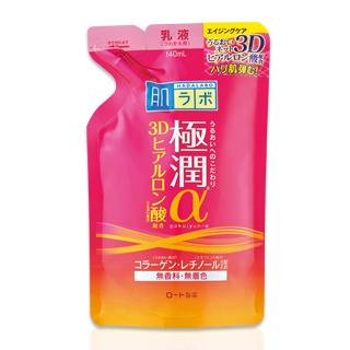 【ROHTO】肌研新極潤α緊緻彈力保濕乳液補充包