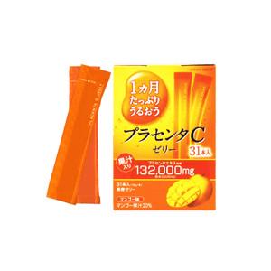 日本 大塚 胎盤C果凍條 芒果口味 10g/31入