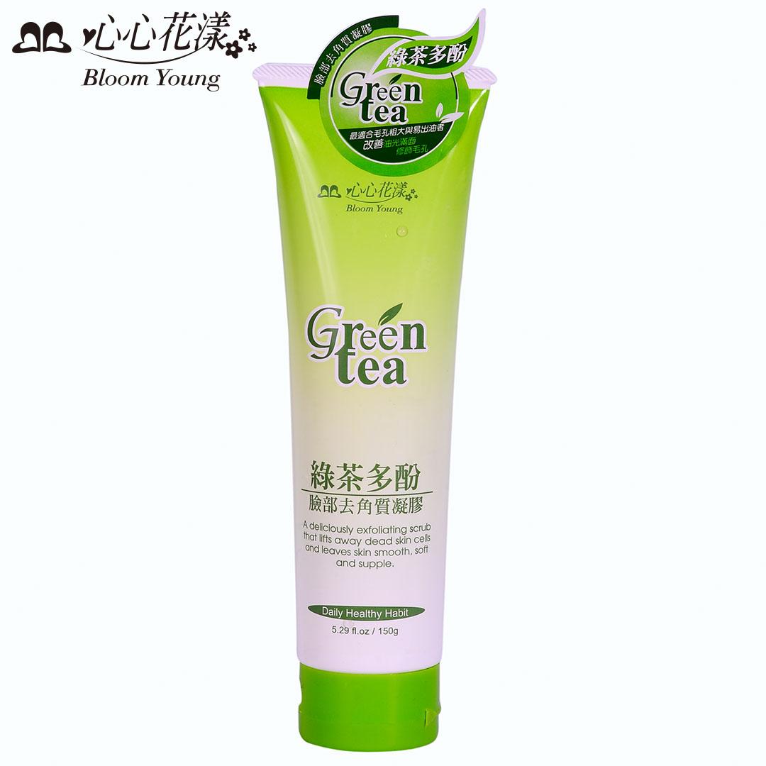 心心花漾 綠茶多酚臉部去角質凝膠(150ml)