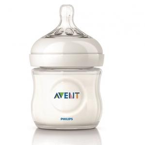 英國【PHILIPS AVENT】親乳感PP防脹氣奶瓶125ml
