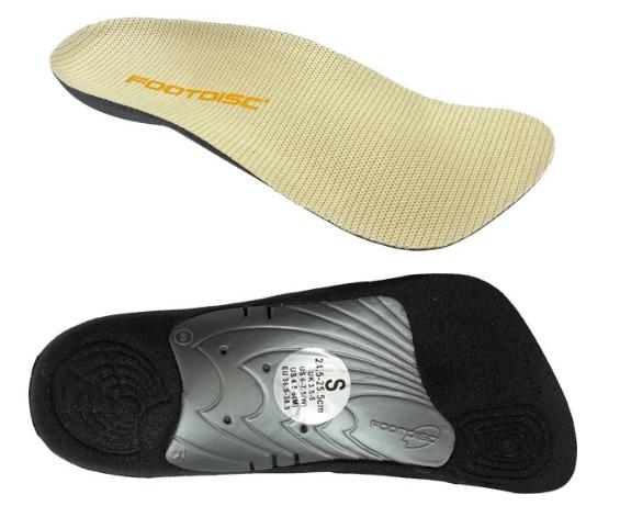 雪菲網*德國力學科技/富足康 FOOTDISC 通用型鞋墊半墊款(所有鞋款適用,置於原有鞋墊上3/4腳掌式)