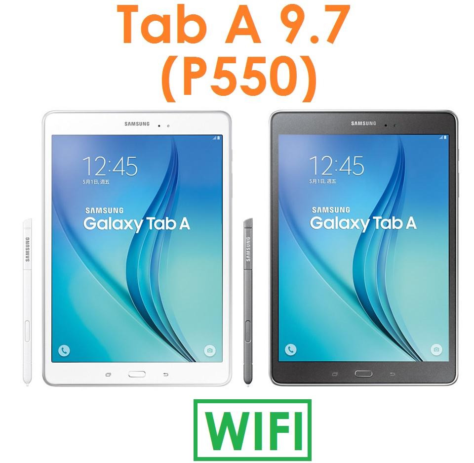 【預訂出貨】三星 Samsung Tab A 9.7 (P550) 9.7吋 2G/16G WIFI 平板電腦(送保護貼+皮套)TabA
