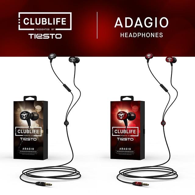 志達電子 ADAGIO 澳洲 AudioFly Clublife by Tiesto 雙單體(動鐵+動圈) 線控 耳道式耳機 Apple Android