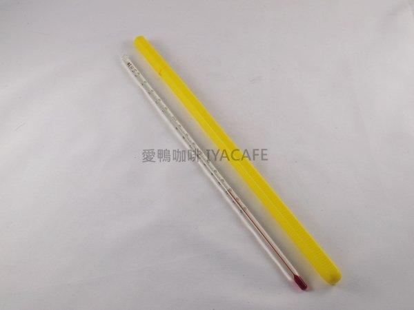 《愛鴨咖啡》玻璃筆型溫度計 0℃~150℃ 附收納筆套