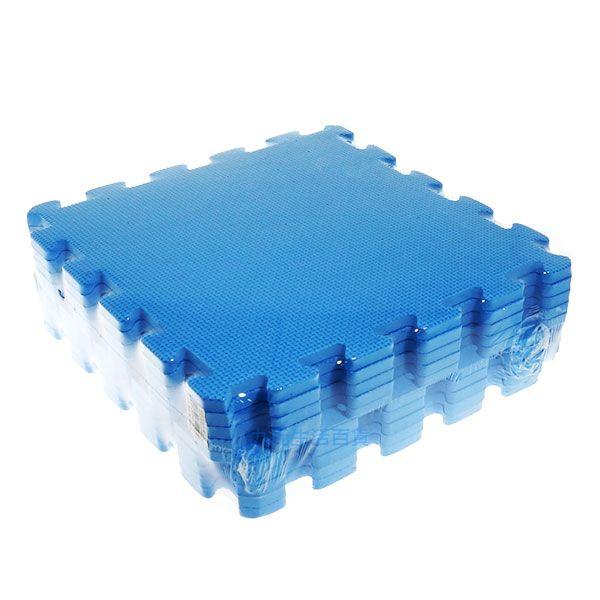 【九元生活百貨】深藍色彩墊/10入 拼裝地墊 EVA 鋪地 拼板