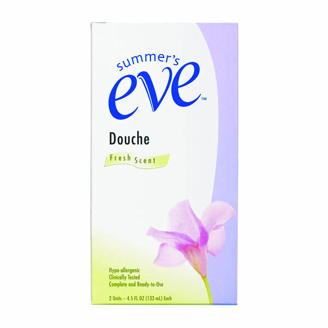 Summer's Eve舒摩兒 陰道灌洗液-清新氣息 pH3.3 (133ml*2入)