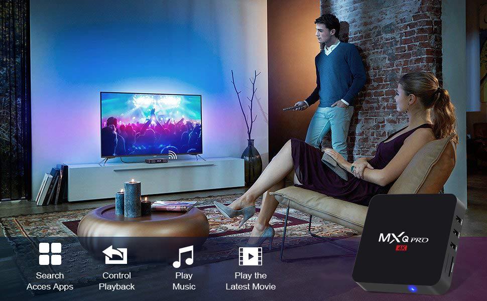 Leelbox: Android 8 1 TV Box,2019 Update Edition Leelbox MXQ