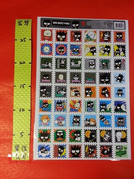 郵票格子貼紙 酷企鵝#三麗鷗系列