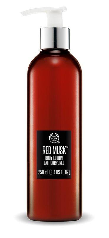 【彤彤小舖】The Body Shop 紅麝香身體潤膚乳 8.4oz / 250ml