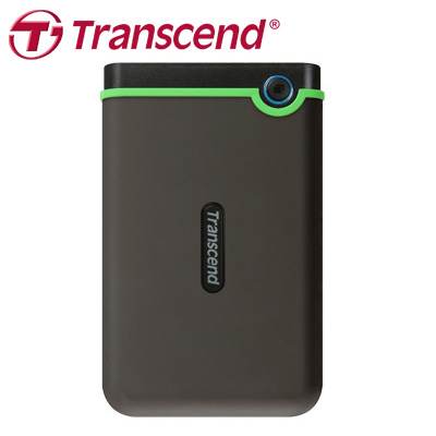 創見 Transcend 外接式硬碟 M3 2TB USB3.0 軍規防震 / 個