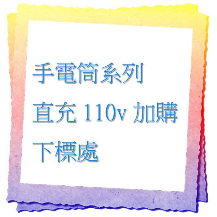 ☆興雲網購☆ 【27015】 此賣場為手電筒加購區 直充線110V家用插頭 僅限本賣場有直充功能手電筒能使用