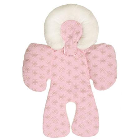 【悅兒園婦幼生活?】美國 JJ Cole 身體支撐墊-Pink 粉色