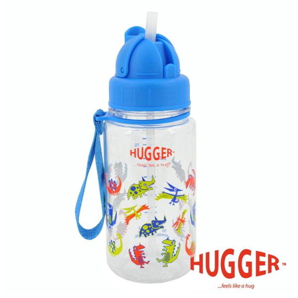 【英國 Hugger】Tritan 彈跳吸管水壺 - 酷比龍