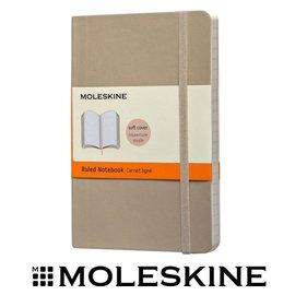 義大利 MOLESKINE 67323500 彩色橫條筆記本 / 軟式 / 卡其 / P