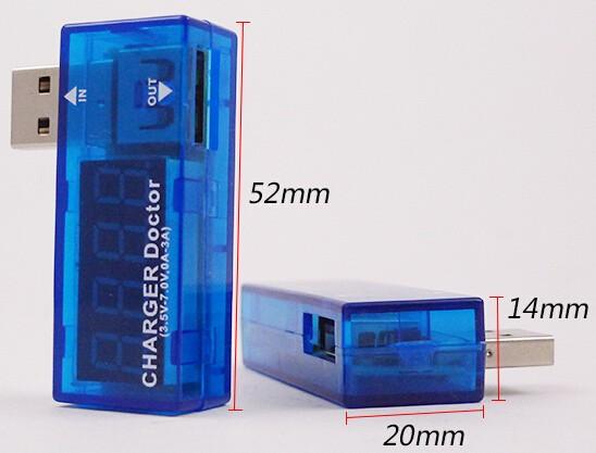 [生活好漾]USB電流電壓檢測器
