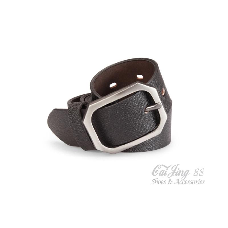 真皮皮帶 質感真皮正裝皮帶 黑 采靚鞋包精品 MIT台灣製 CK03